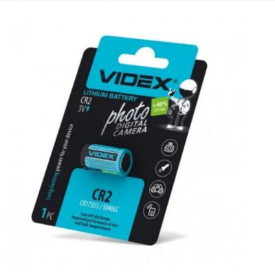 Батарейка Videx CR2 U-1 Lithium DLCR2, 3V
