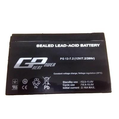 Аккумулятор GREAT POWER(GP) 12В, 7.2Ач
