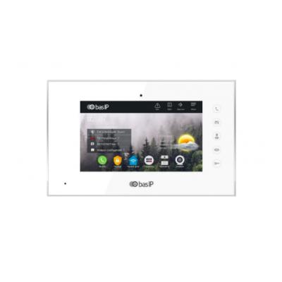 IP видеодомофон BasIP AQ-07L White