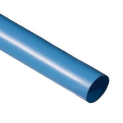 Термоусадочная трубка 4mm синяя (1м)