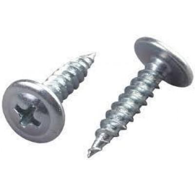 Саморез по металлу оцинкованный с декоративной головкой ВПЦТ- (4,2 * 14)