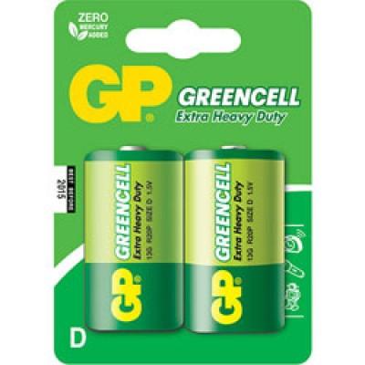 Батарейка GP 14Ж - S2 Dreencell R14, C (блистер 2 шт)