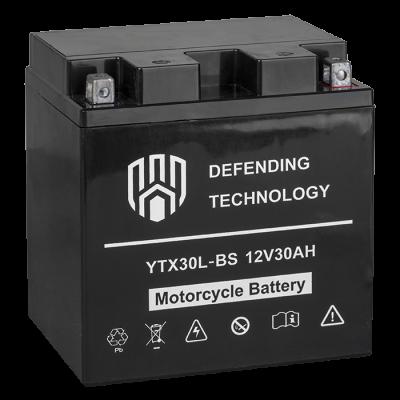 Аккумулятор мото 30Ач 12В MF Defending Technology YTX30L-BS