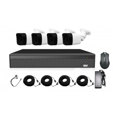 Комплект AHD видеонаблюдения 2Мп XVRA2004D4PB200