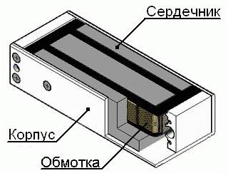 установить электромагнитный замок - фото